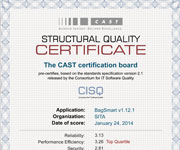 Flyers design - Structural Quality Certificate