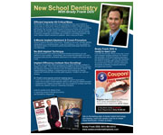 Flyers design - New School Dentistry Flyer