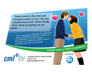 Other designs - CML TV Postcard Design