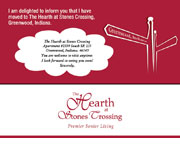 Other designs - Hearth Stones Crossing Postcard