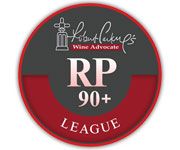 Other designs -RP 90+ league Robert Parker's Wine Advocate labels