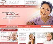 web site development - Affinity Home Care