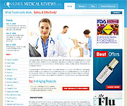 web site development - Consumer Medical Revies