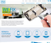 web site development - iFixt, We fix mobile devices