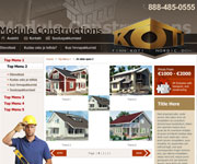 web site development - KOTI - Module Constructions