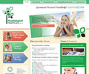 web site development - Psychological Health Care