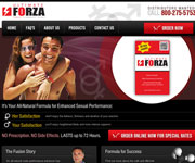 web site development - Ultimate FORZA - Medical Supply