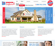 web site development - Window Craftsmen Inc. website