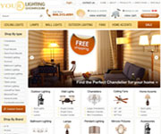 web site development - Your Lighting Showroom